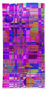 1302 Abstract Thought Beach Towel