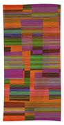 1365 Abstract Thought Beach Towel