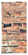Brick Wall Beach Towel