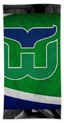 Hartford Whalers Beach Towel
