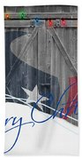 Houston Texans Beach Towel by Joe Hamilton