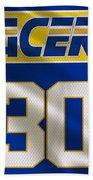 Indiana Pacers Uniform Beach Towel
