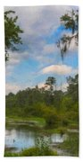 Lowcountry Marsh Beach Towel