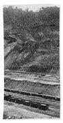 Panama Canal, C1910 Beach Towel