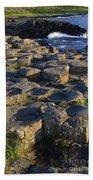 The Giants Causeway Beach Towel