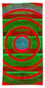 1407 Abstract Thought Beach Towel