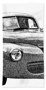 1941 Ford Coupe Beach Towel