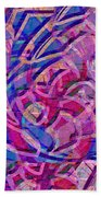 1412 Abstract Thought Beach Towel