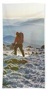 A Summit Intern Hikes The Northwest Beach Towel