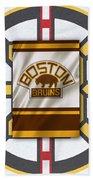 Boston Bruins Beach Sheet