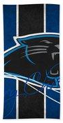 Carolina Panthers Beach Towel