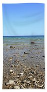 Lake Huron Beach Towel by Frank Romeo