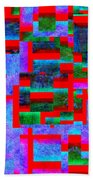 1520 Abstract Thought Beach Towel