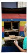 A Backyard Chicken Coop In Austin Beach Towel