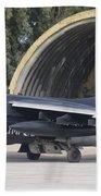 Hellenic Air Force Ta-7 Corsair II Beach Towel
