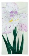 Japanese Flower Beach Towel