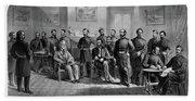 Lee's Surrender, 1865 Beach Towel