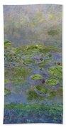 Waterlilies Beach Towel