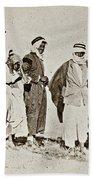 Wwi Refugees, 1919 Beach Towel