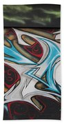 Graffiti Beach Towel