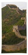 Great Wall Of China Beach Towel
