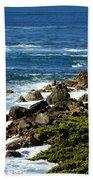 17 Mile Drive Detail Beach Towel