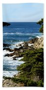 17 Mile Drive Iv Beach Towel