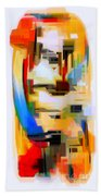 Abstract Series Iv Beach Towel