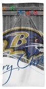 Baltimore Ravens Beach Towel