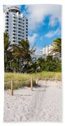 Miami Beach Beach Towel