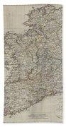 1804 Jeffreys And Kitchin Map Of Ireland Beach Sheet