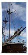 1812 Tall Ships Peacemaker Beach Towel