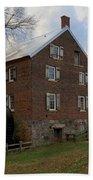 1823 North Carolina Grist Mill Beach Towel