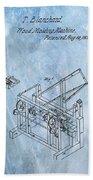 1836 Wood Molding Machine Beach Towel