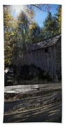 1868 Cable Mill At Cades Cove Tennessee Beach Towel