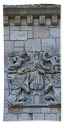 Ancient Spanish Monastery Beach Towel