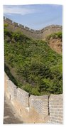 Great Wall Of China Beach Towel