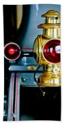 1908 Buick Model S Tourabout Taillight Beach Towel