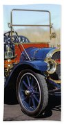 1910 Pope Hartford Model T Beach Towel