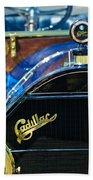 1911 Cadillac Roadster Beach Towel