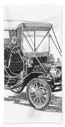 1911 Ford Model T Tin Lizzie Beach Towel by Jack Pumphrey