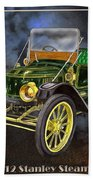 Stanley Steamer Beach Towel