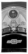 1915 Chevrolet Touring Hood Ornament - Moto Meter Beach Towel