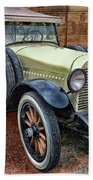 1921 Hudson-featured In Vehicle Enthusiasts And Comfortable Art And Photography And Textures Groups Beach Towel