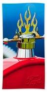 1923 Ford T-bucket Aftermarket Hood Ornament Beach Sheet