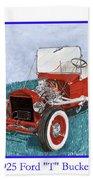 1925 Ford Hot Rod T-bucket Beach Towel