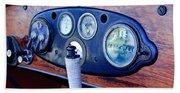 1925 Stutz Series 695h Speedway Six Torpedo Tail Speedster Dashboard Instruments Beach Towel
