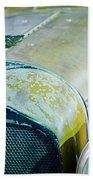 1926 Duesenberg Hood Ornament - Motometer Beach Towel