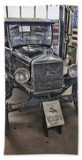 1926 Ford Model T Runabout Beach Towel by Douglas Barnard