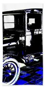 1926 Ford Model T Stakebed Beach Towel